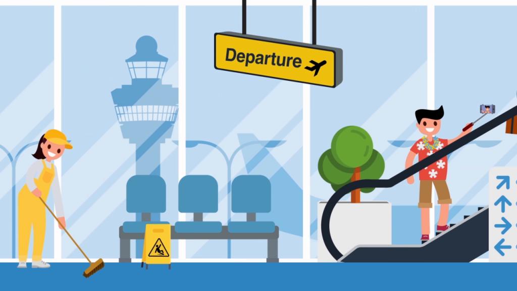 Schiphol veiligheidsinstructie